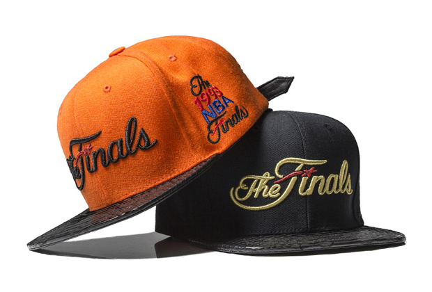 """The Finals"" limited edition strapback caps, retailing at around £400, exclusive to RSVP Gallery."