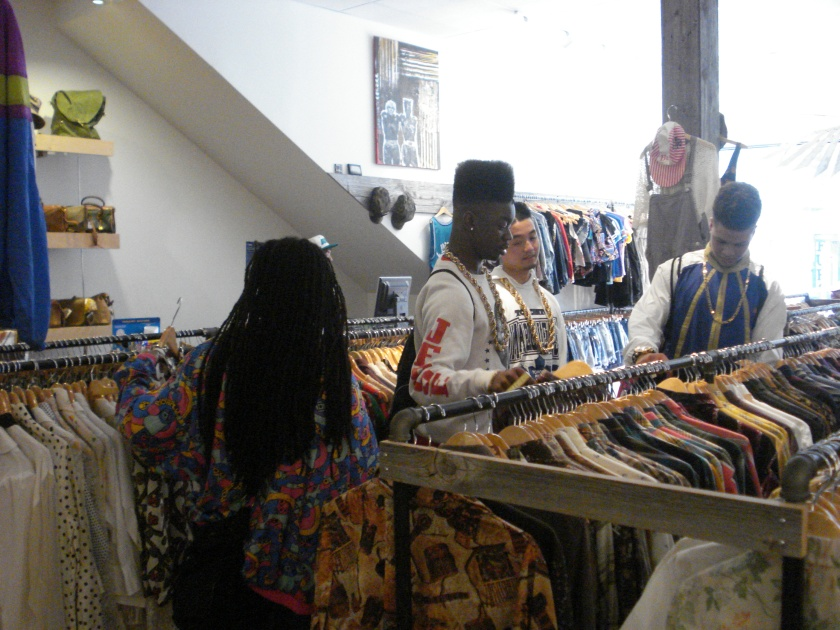 During my day with them, Tribe took me around some of their favourite thrift hotspots in the city...