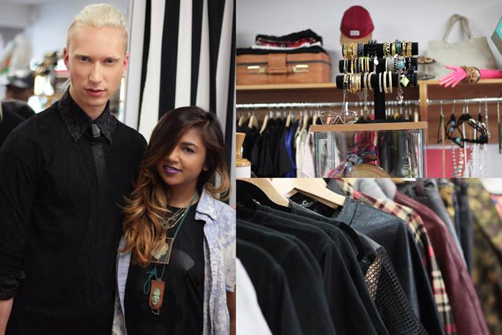 Launch founder Meagan Jett and designer Myles Sexton