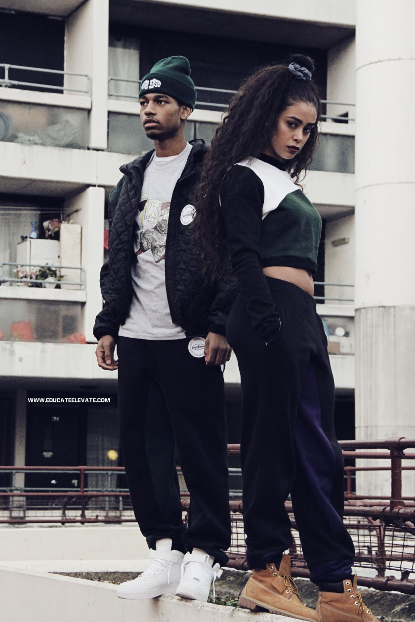 Educate Elevate Streetwear Lookbook Camden Maiden Lane