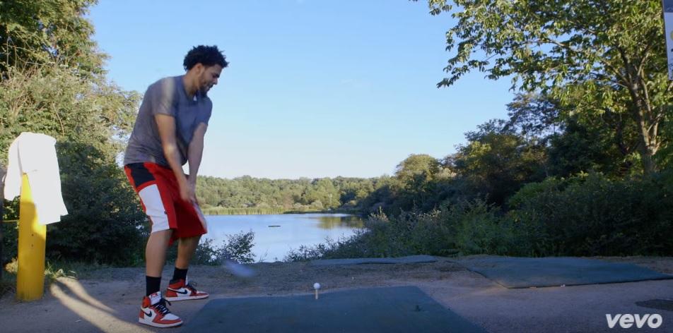 J Cole Wears Air Jordan 1 Retro High